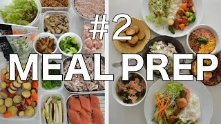 ★Japanese MEAL PREP #2★ Healthy and Delicious Meal in 10 mins! (EP141)