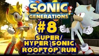 Super/Hyper Sonic Generations - (1080p) Rooftop Run