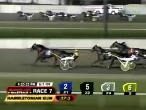 Explosive Matter, Hambletonian Elimination 1, August 1 2009, Meadowlands.