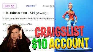 So I Bought a $10 Fortnite Account on Craigslist and got this...