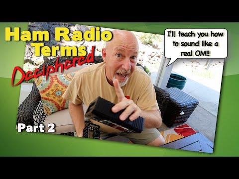 Ham Radio Codes Deciphered - The Hidden Meaning Of Ham Radio Jargon PT 2   K6UDA RADIO