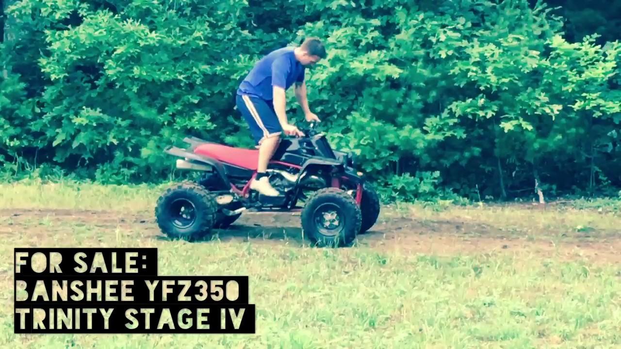 FOR SALE: Yamaha Banshee YFZ350 (Trinity Stage IV)