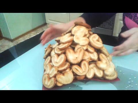 Торт без выпечкиНаполеониз слоенного печеньяУшки.
