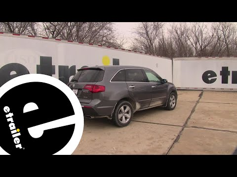 Etrailer | Tekonsha T-One Vehicle Wiring Harness Installation - 2010 Acura MDX