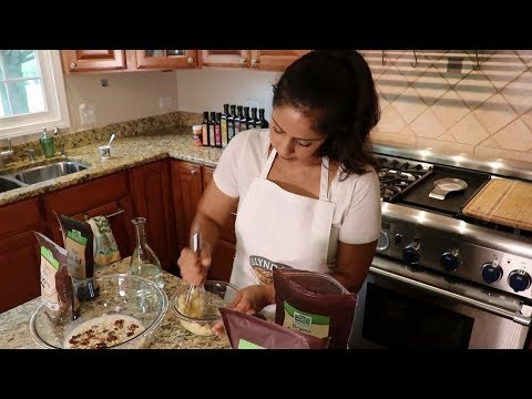 Vegan Banana Bread Overnight Oats Recipe by NOW Foods