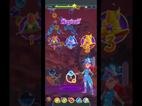 Bubble Witch 3 Saga Level 1504 ~NO BOOSTERS