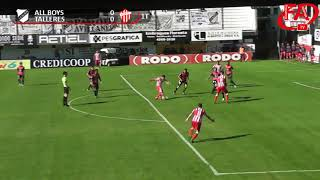 FATV 18/19 Fecha 9 - All Boys 1 - Talleres 0