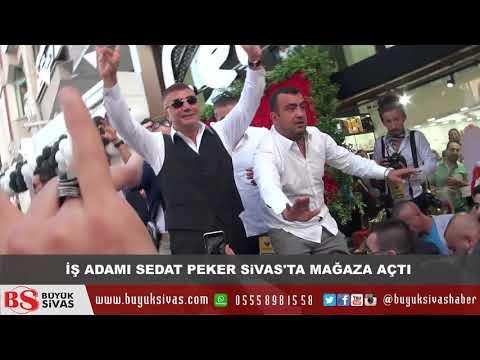Sedat Peker Sivas'ta - Binlerce Sivaslı Sedat Peker'i Görmek İçin Saatlerce Bekledi