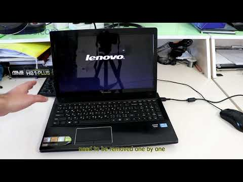 Laptop Does Not Boot Just Shows Lenovo Logo Youtube