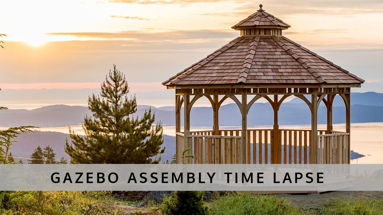 Gazebo Kits for Sale | Cedar Wood – Outdoor Living Today