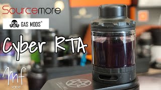 Cyber RTA by Gas Mods - Review, build & wick - Another single coil flavour banger!