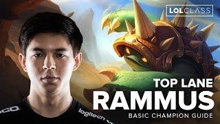 Rammus Top Tank Guide by TSM Hauntzer - Season 6 | League of Legends