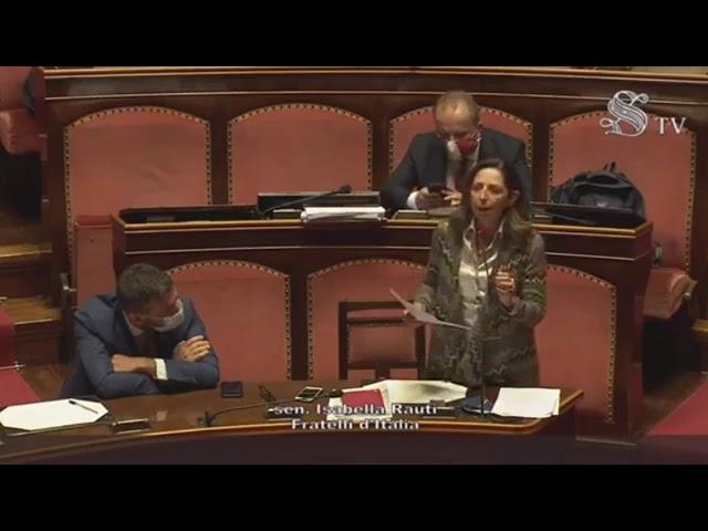 FdI Parlamento - La dichiarazione della Sen. Rauti sulla relazione della Comm.ne sul Femminicidio