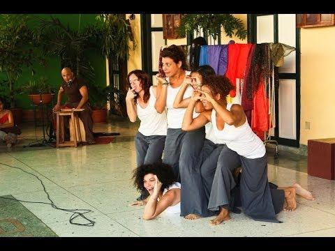 Teatro Espontaneo in Havana, Cuba  (Improvised theatre)