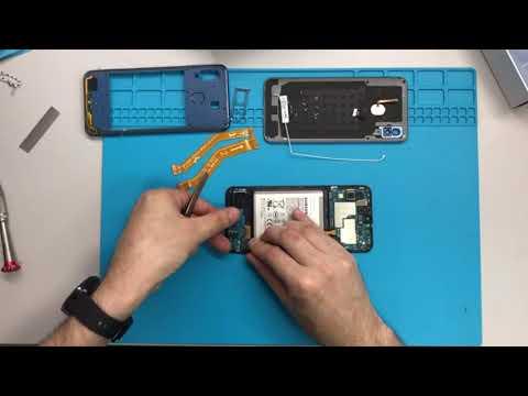 Разборка Samsung Galaxy A30 SM-A305F / Samsung Galaxy A30 Teardown