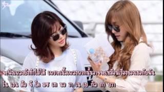 [Karaoke/Thai sub]Sunny&Tiffany - I can't