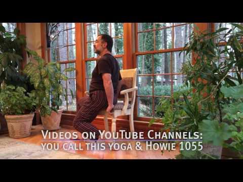 Chair Yoga Warrior Series for Strength & Balance