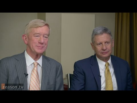 Gary Johnson and William Weld on Hillary, Trump, and Why You Should Vote Libertarian