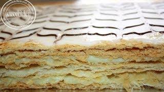 Mille Feuille 100% Maison/Homemade Mille feuille عمل حلوى ميل فوي