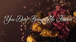 You Don't Bring Me Flowers | Neil Diamond Karaoke