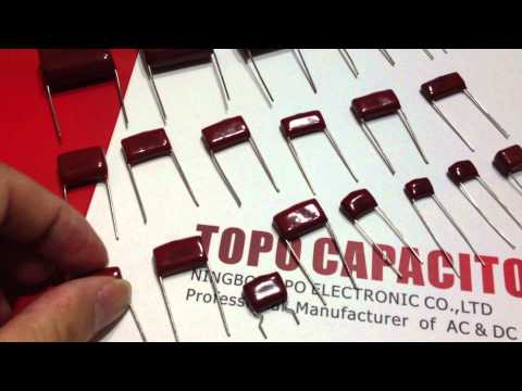 Topo Can Buy Film Capacitors? 5% 10% MKT CL21 Metallized Polyester Film Capacitors