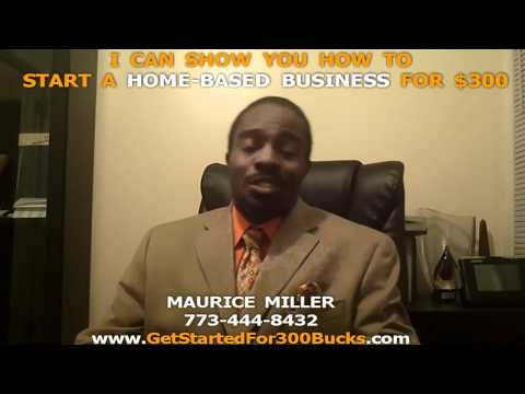 START A HOME-BASED BUSINESS FOR $300.00