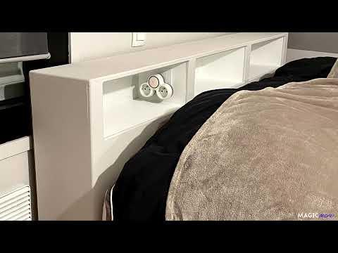 Fabriquer une tête de lit en MDF avec 3 niches