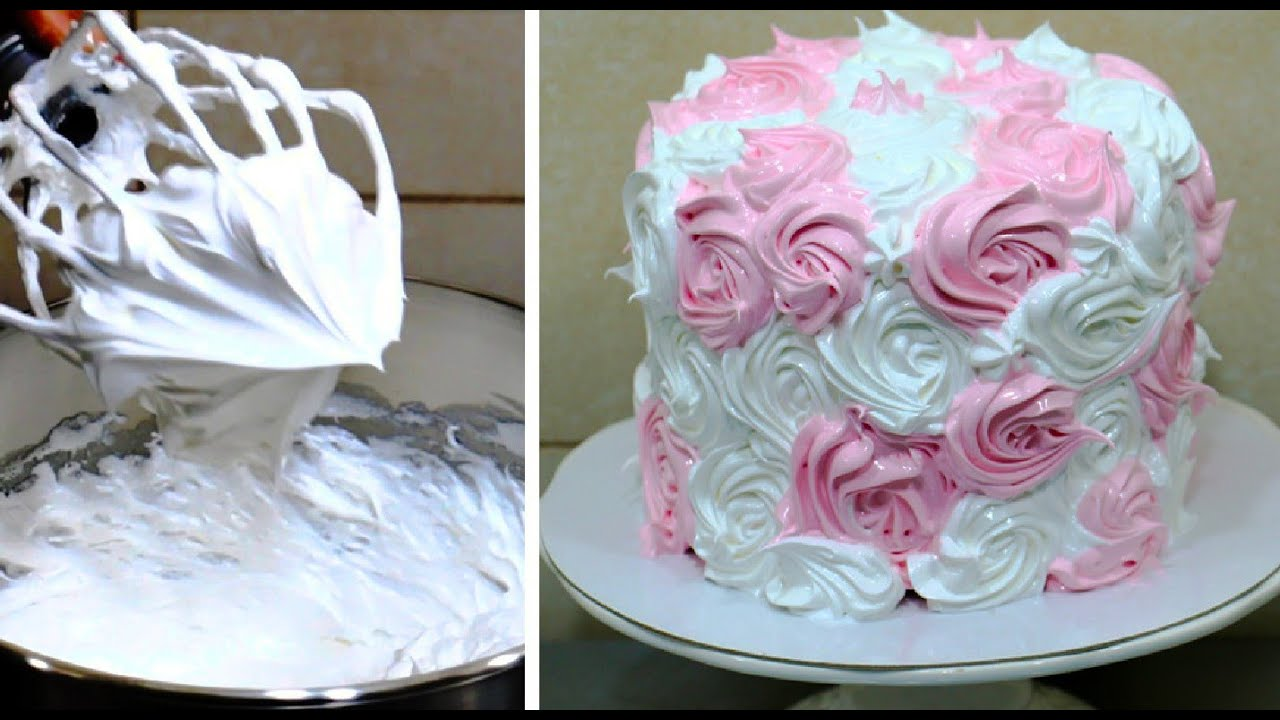 Buttercream Icing Recipe For Cake Decorating Youtube