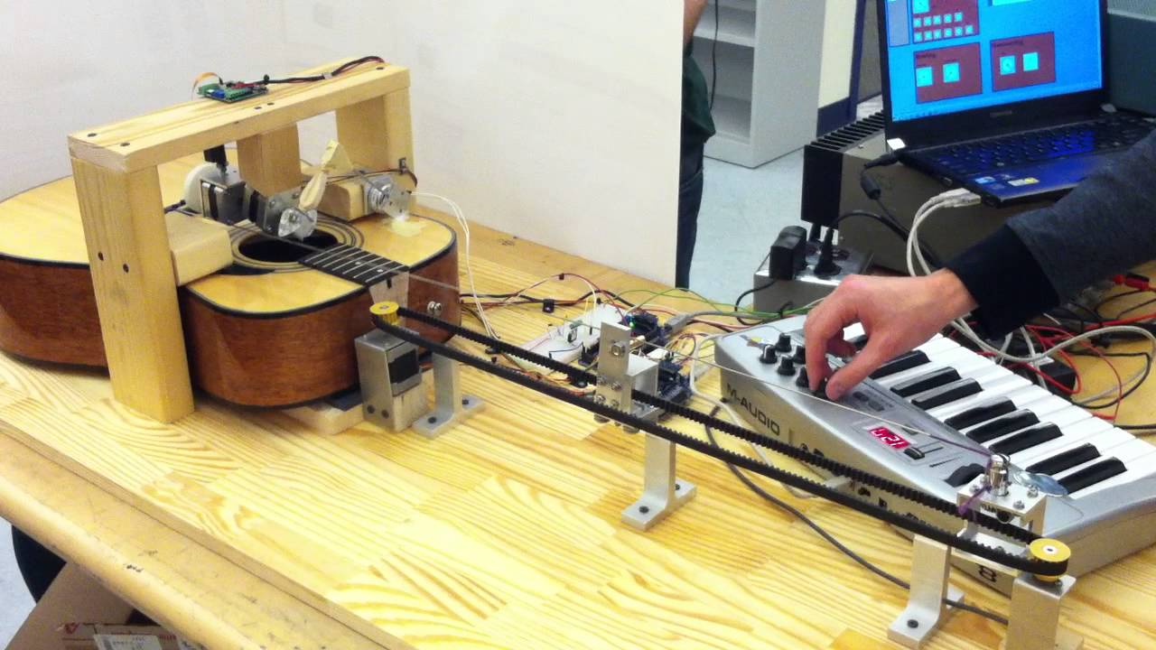 Musical instrument of multiple methods excitation
