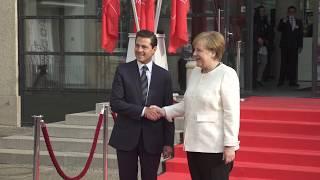 Encuentros con el Presidente - México en la Feria de Hannover 2018