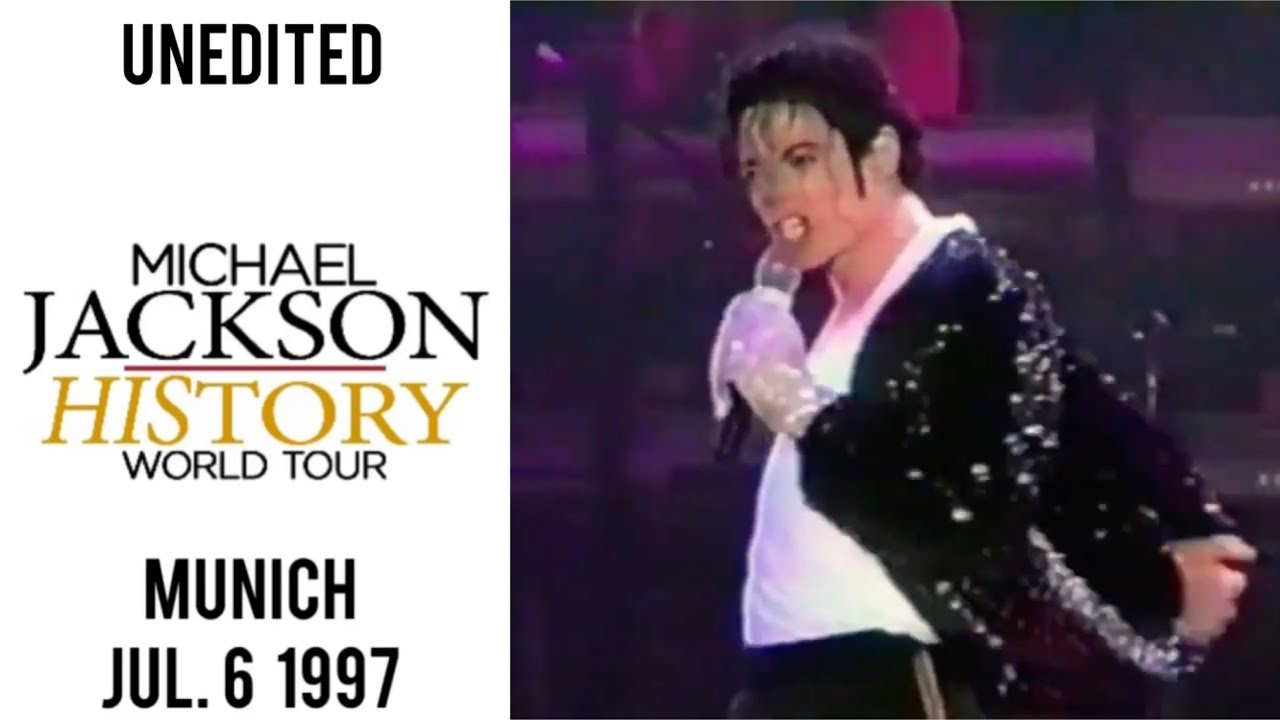 Download Michael Jackson - HIStory Tour Live in Munich Unedited Version (July 6, 1997)