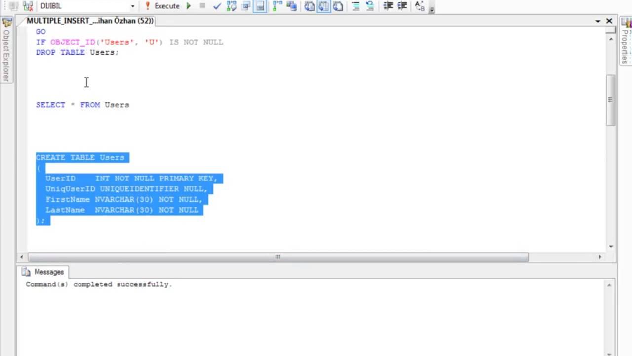 SQL Server MULTIPLE INSERT NEWID
