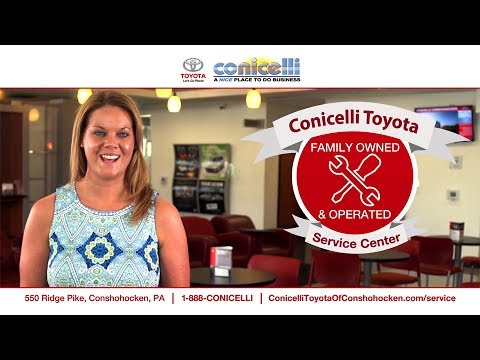 Conicelli Toyota Service Overview