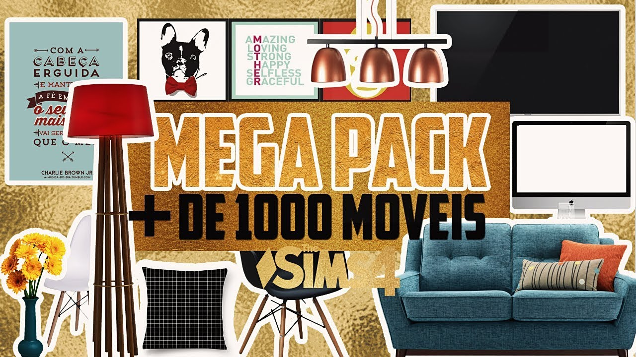 mega pack de 1000 m veis especial de 100 inscritos