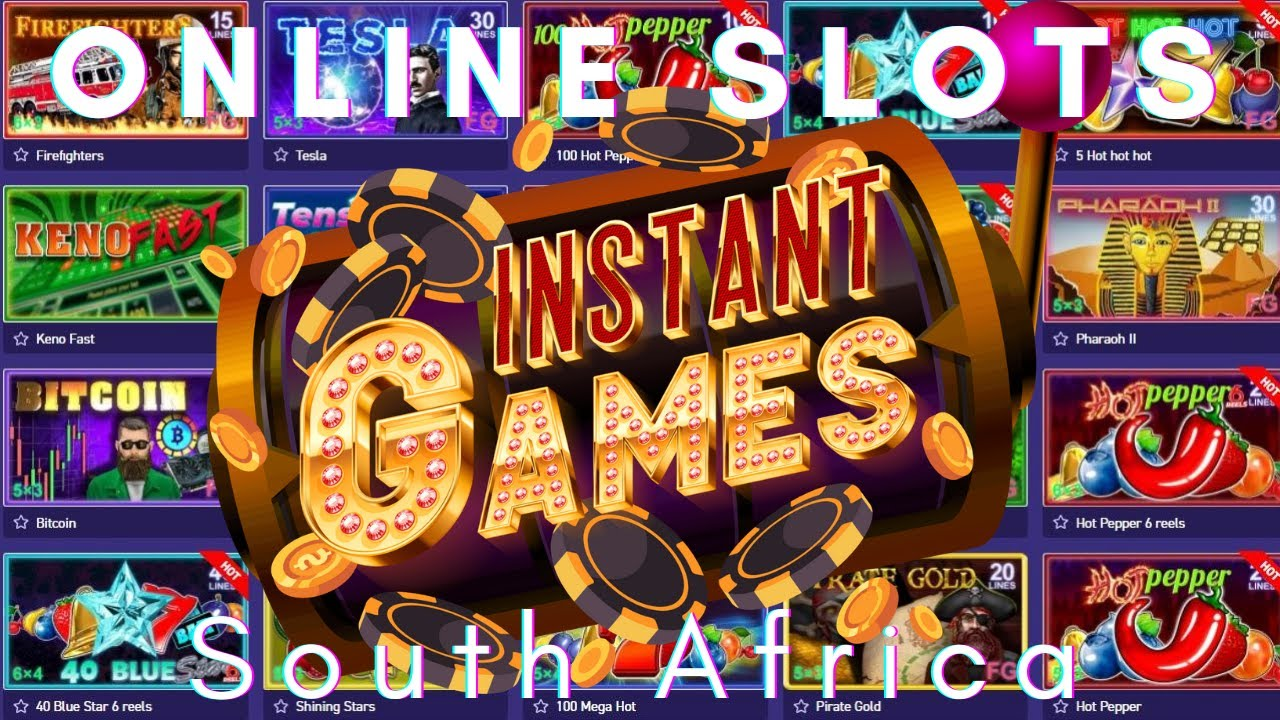 Slot Games South Africa