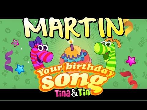 Tina&Tin Happy Birthday MARTIN