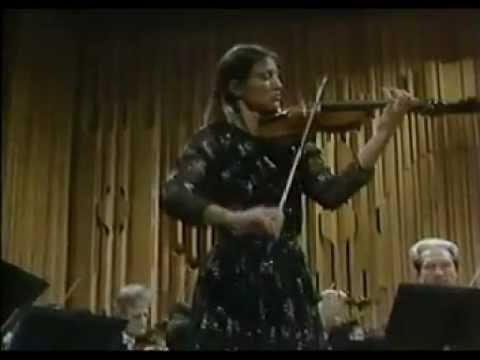 Tchaikovsky Violin Concerto in D op 35, Viktoria Mullova, violin
