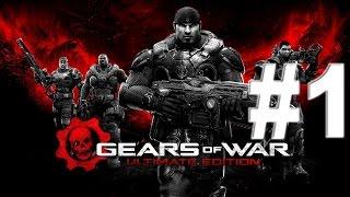 Gears Of War Ultimate Edition Gameplay ITA Walkthrough Episodio #1 [XBOXONE]
