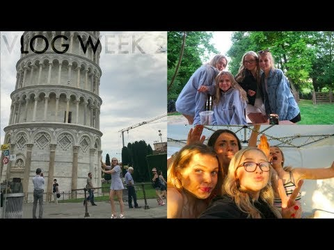 I VLOGGED A HOUSE PARTY... AND IT GOT MESSY! + ITALY TRAVELS // VLOG WEEK 2