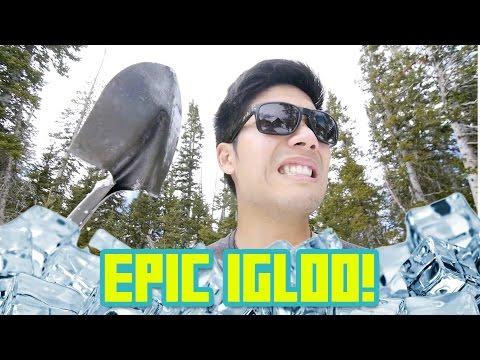 Building an Epic Igloo!