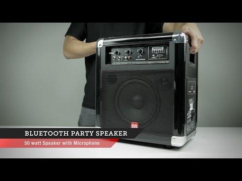 Bluetooth Party Speaker | Monoprice Quick Look