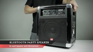 Bluetooth Party Speaker  Monoprice Quick Look