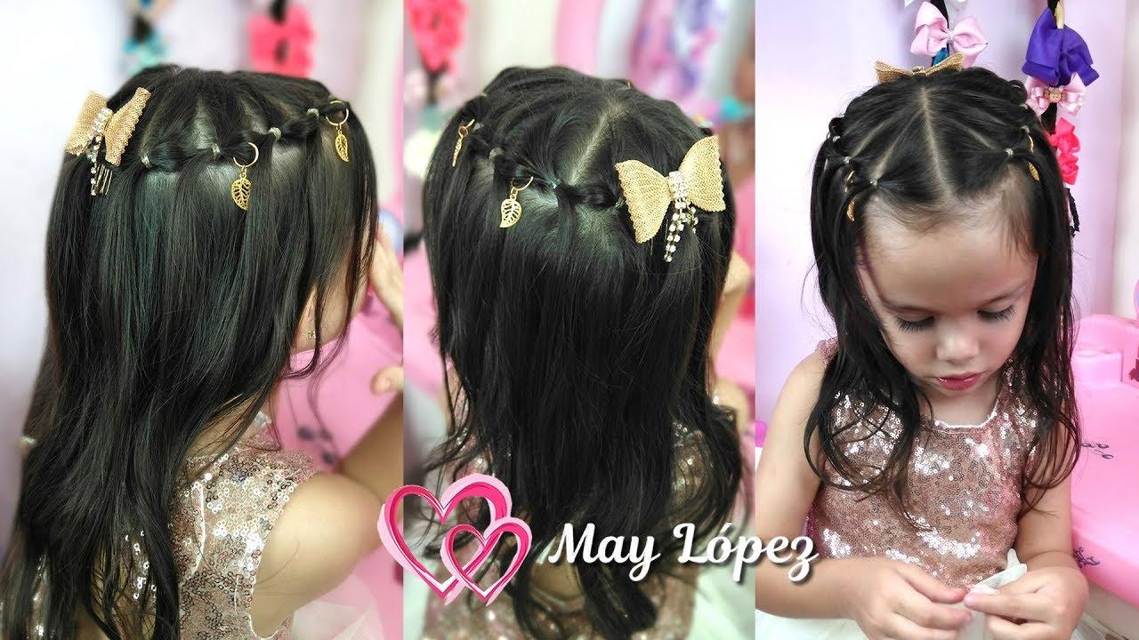 Peinado Elegante Para Primera Comunion Peinado Para Niñas