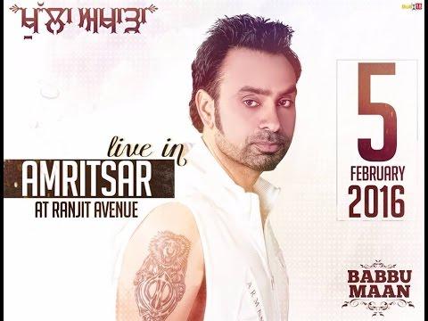 Amritsar Full Live show 2016 BABBU MAAN FULL HD 5 FEB 2016