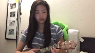 Dancing On My Own Robyn Ukulele Cover