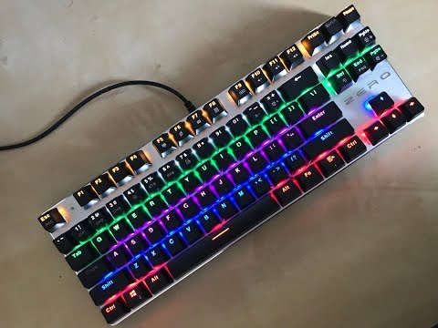 MeToo ZERO - 30$ Gaming Mechanical Keyboard Review