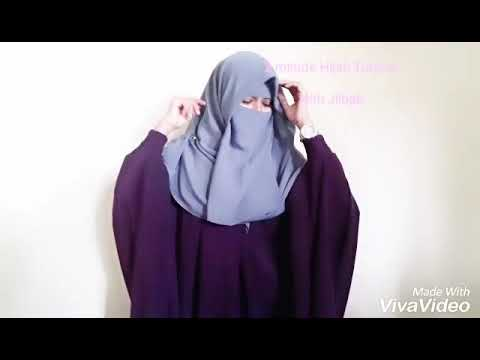 Two Minutes Hijab & Niqab Tutorial With Jilbab