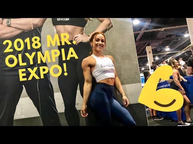2018 MR. OLYMPIA EXPO | VLOG | LAUREN FINDLEY