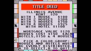 Monopoly - Monopoly (NES / Nintendo) - Vizzed.com - zeross121, pokemon x, and vanelan - User video