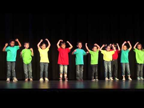 Gummy Bear Song and Performance - First Grade